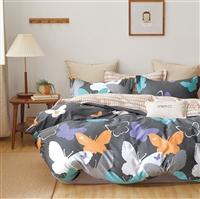 Tilly Butterfly 100% Cotton Comforter Set