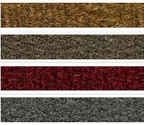 "1/2 YARD - Carpet Yardage <br>(CUT PILE with Poly Backing - 18"" x 76"")"