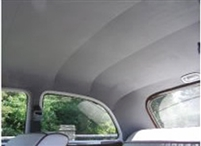 Bow Supported Headliner - Custom Fit <br> (Passenger Cars - 1954 & Older) <br>CLOTH