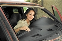 Coverlay Dash Board Cover <br> 1977-1985 Mercedes 230, 240D, 280E, 280CE, 300D, 300CD, 300TD (123 Body) <br> [With Climate Sensor]