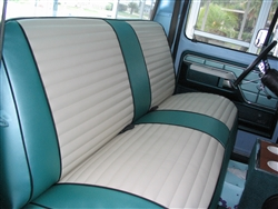 Custom Tailored Seat Covers <br> For Classic & Vintage Vehicles <br> Vinyl and/or Cloth