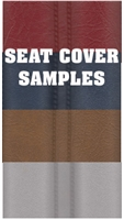 Custom Tailored Seat Cover SAMPLES