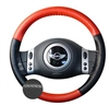 EuroPerf Two-Color Wheelskins Steering Wheel Cover