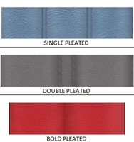 Seat Cover Material <br> Pleated Vinyls - [ 1 YARD ]