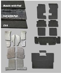 Heat Shield & Sound Deadener - Automotive Interior Flooring