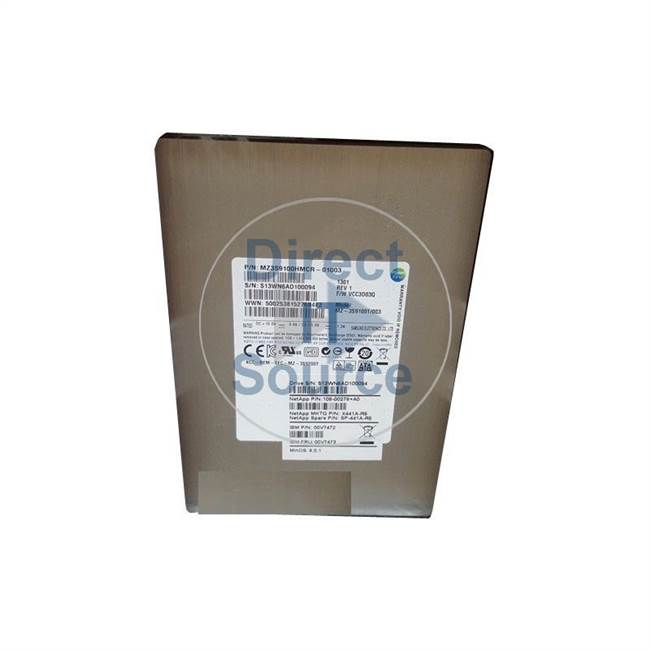 "00V7472 IBM - 100GB SAS 2.5"" Cache Hard Drive"
