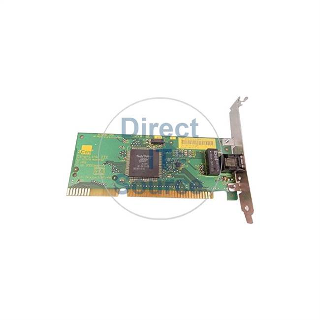 3Com 02-0020-011 - Ethernet ISA Card