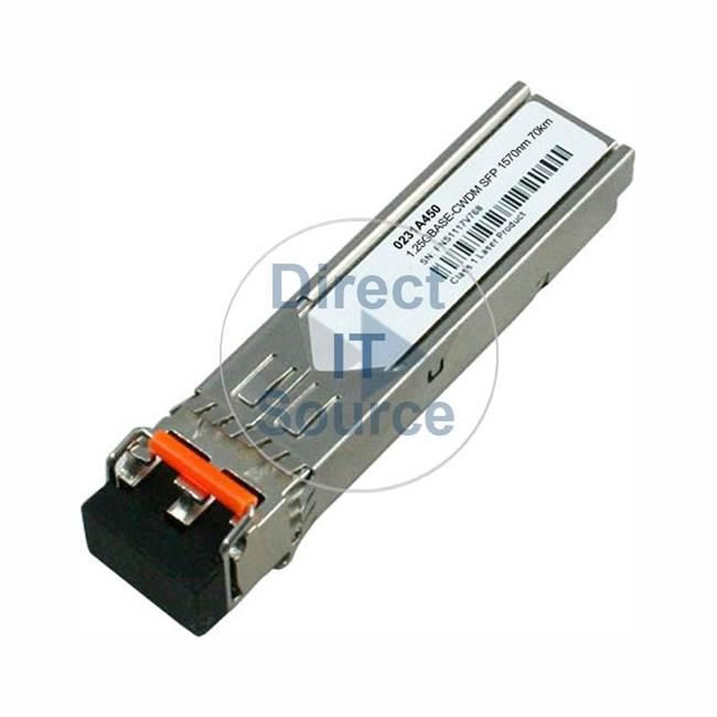 3Com 0231A450 - 1000Base-Lh70 CWDM SFP Transceiver Single Module