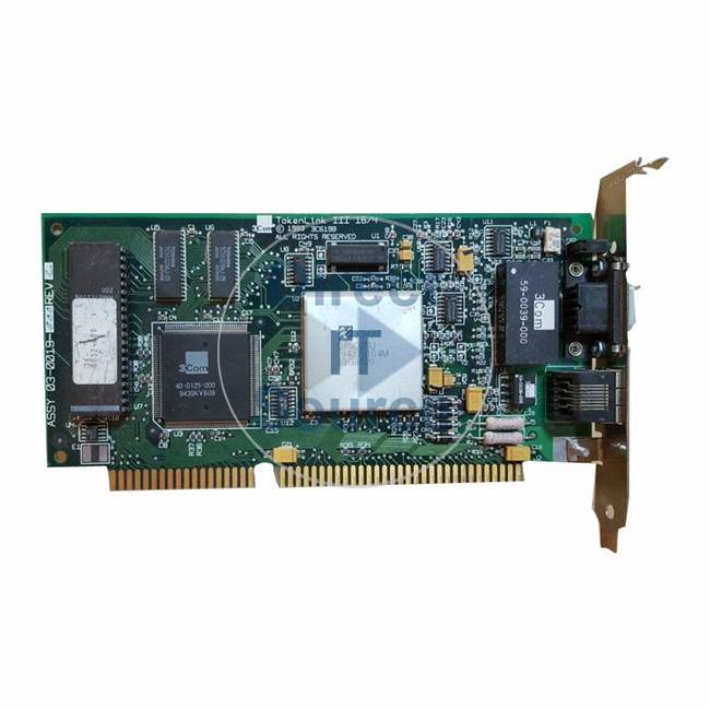 3Com 03-0019-000 - Tokenlink III 16/4 ISA Network Adapter