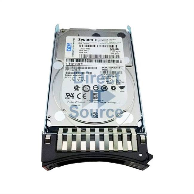 04X0909 IBM - 500GB 7.2K Cache Hard Drive