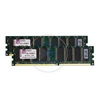 Apple 065-4977 - 2GB 2x1GB DDR PC-3200 Non-ECC Unbuffered 184-Pins Memory