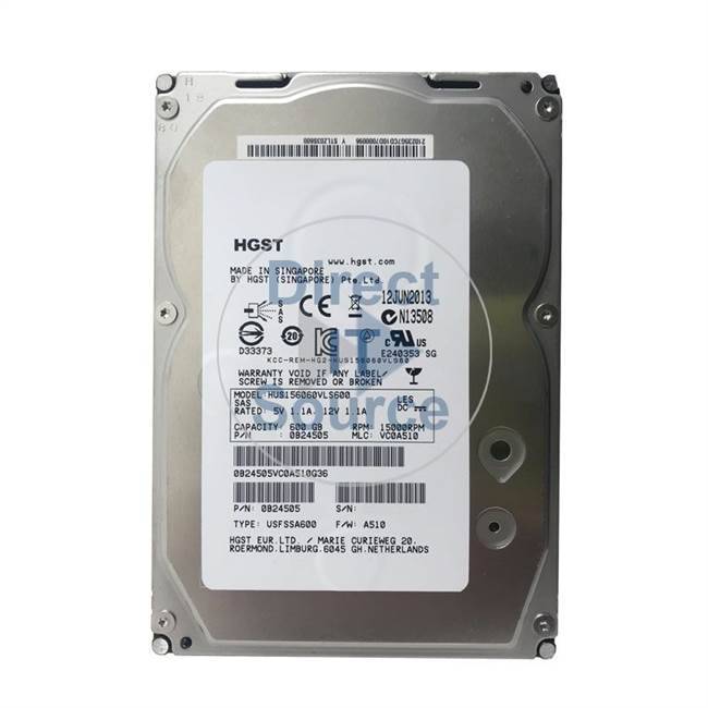 "0B24505 Hitachi - 600GB 15K SAS 3.5"" Cache Hard Drive"
