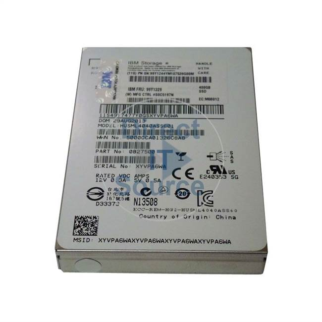 "0B27500 Hitachi - 400GB SAS 2.5"" Cache Hard Drive"