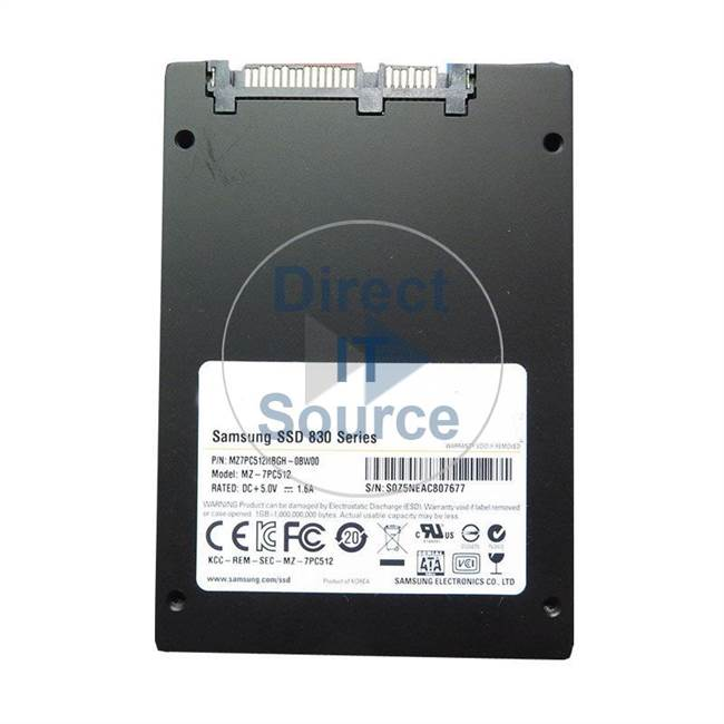 "0GYG3M Dell - 512GB SATA 2.5"" Cache Hard Drive"