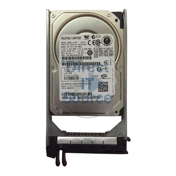 "Dell 0NP659 - 147GB 10K SAS 2.5"" Hard Drive"