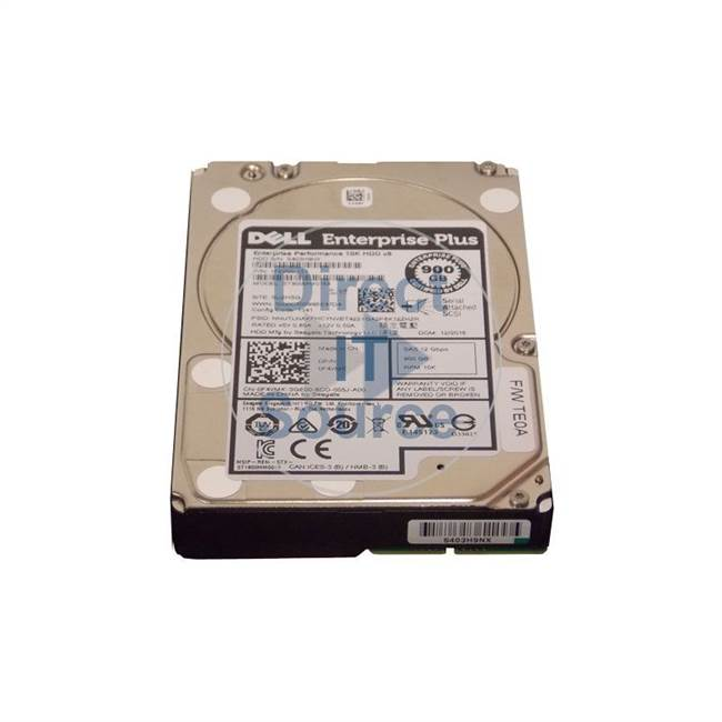 "0WVJYM Dell - 900GB 10K SAS 6.0Gbps 2.5"" Cache Hard Drive"