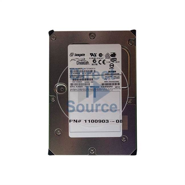 "1100903-08 Sun - 73GB 15K Fibre Channel 3.5"" Cache Hard Drive"