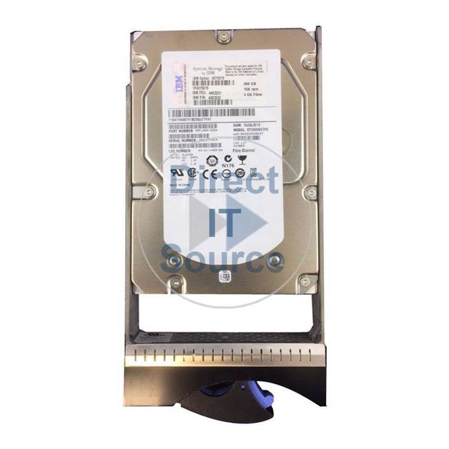 "1814-4205 IBM - 300GB 15K Fibre Channel 3.5"" Cache Hard Drive"