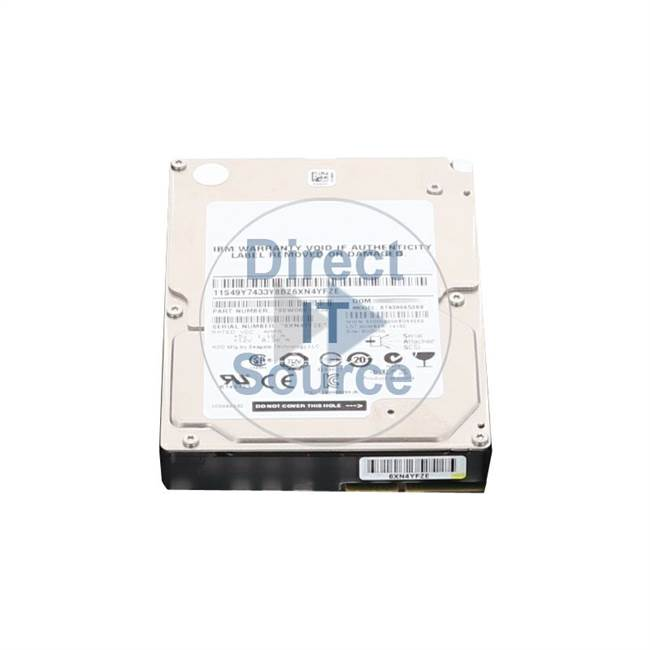 "2076-3253 IBM - 300GB 15K SAS 2.5"" Cache Hard Drive"