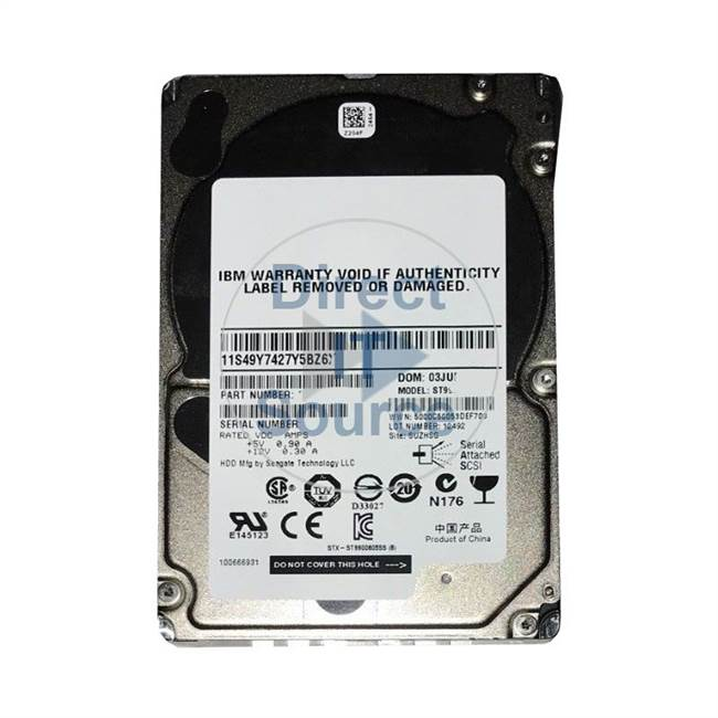 2076-3509 IBM - 900GB 10K Cache Hard Drive