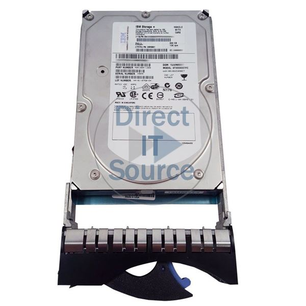 "IBM 23R0831 - 300GB 10K Fibre Channel 3.5"" Hard Drive"
