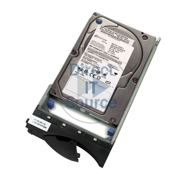"IBM 24P3711 - 36.4GB 10K 80-PIN Ultra-320 SCSI 3.5"" Hard Drive"