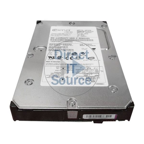 "IBM 24P3726 - 73.4GB 15K 68-PIN Ultra-320 SCSI 3.5"" Hard Drive"