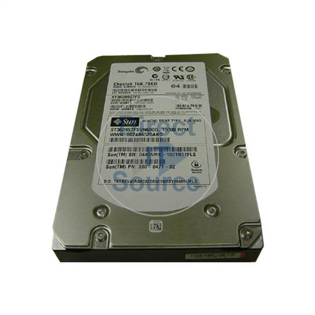390-0477 Sun - 600GB 15K Fibre Channel Cache Hard Drive