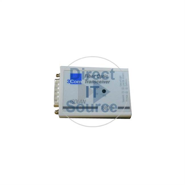 3Com 3C16805 - IsoLAN Fiber Optic 1-Port Transceiver St To AUI Module