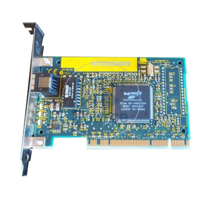 3Com 3CSOHO100-TX - 10/100TX PCI Fast Ethernet Adapter