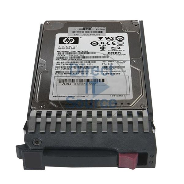 "HP 512544-002 - 146GB 15K SAS 6.0Gbps 2.5"" Hard Drive"