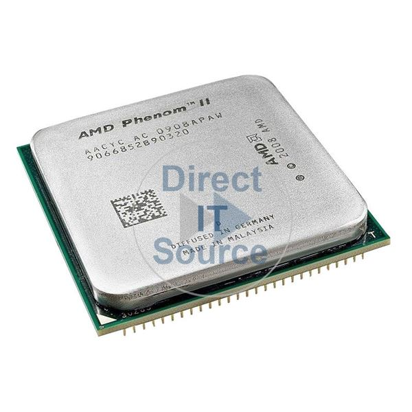 HP 513366-001 - Phenom II X4 Quad Core 2.6GHz 6MB Cache Processor Only