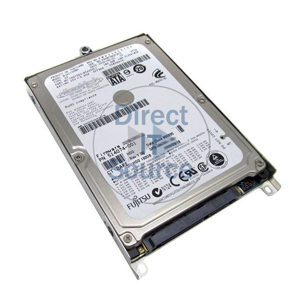"HP 514074-001 - 160GB 5.4K SATA 2.5"" Hard Drive"