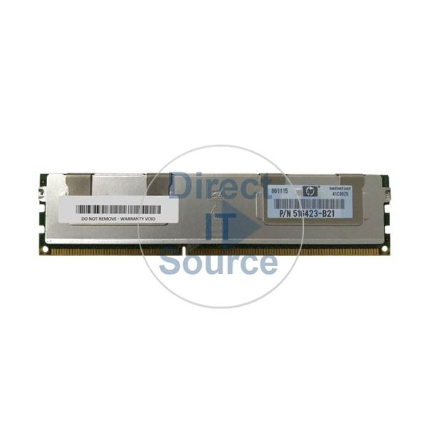 HP 516423-B21 - 8GB DDR3 PC3-8500 ECC Registered 240 Pins Memory