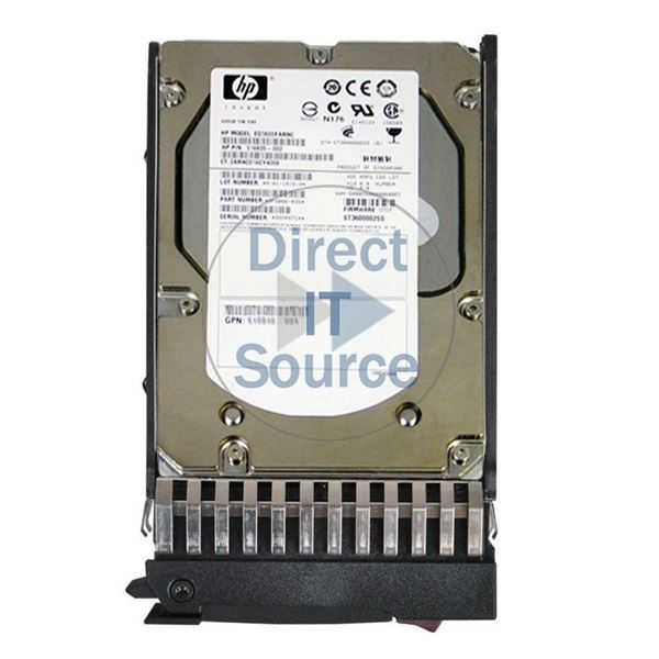 "HP 516835-002 - 600GB 10K SAS 6.0Gbps 3.5"" Hard Drive"