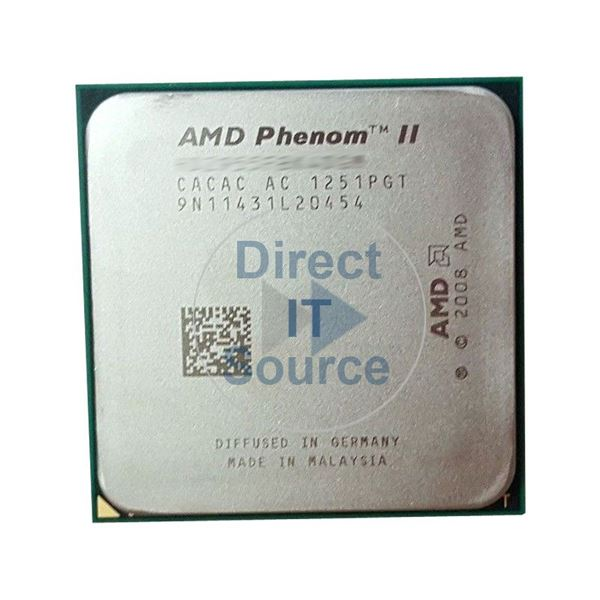 HP 517045-001 - Phenom II X4 Quad Core 2.60GHz 4MB Cache Processor Only