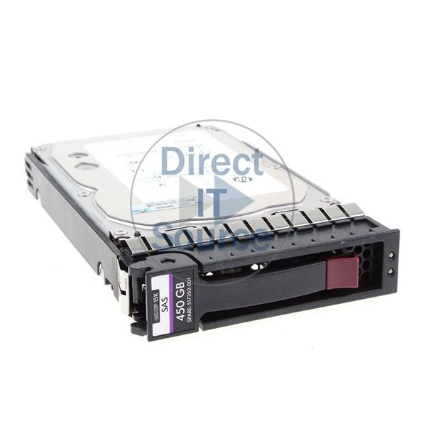 "HP 517352-001 - 450GB 15K SAS 6.0Gbps 3.5"" Hard Drive"