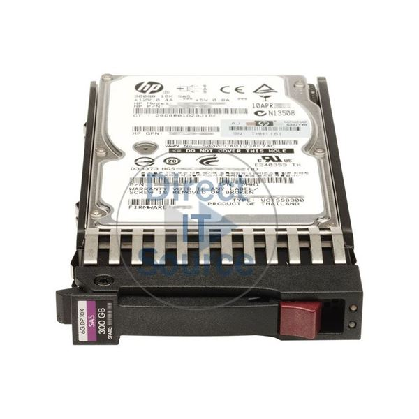 "HP 518194-004 - 300GB 10K SAS 6.0Gbps 2.5"" Hard Drive"