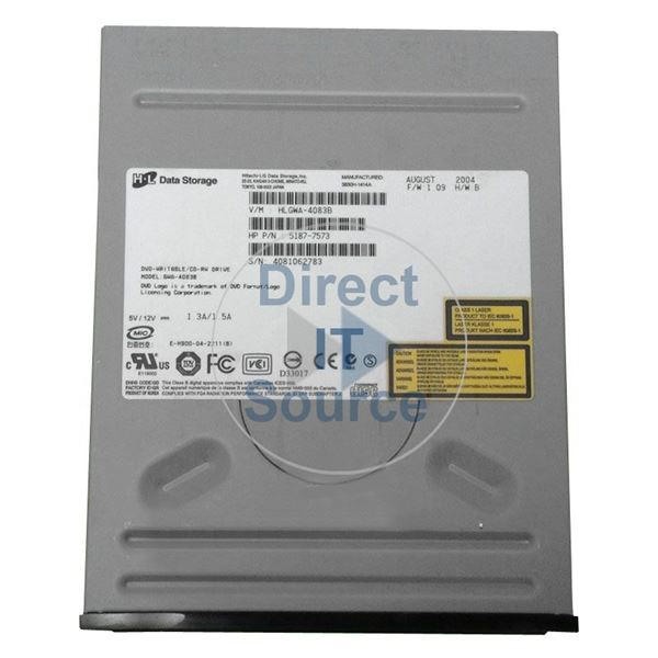 HP 5187-7573 - IDE CD-RW Optical Disc Drive