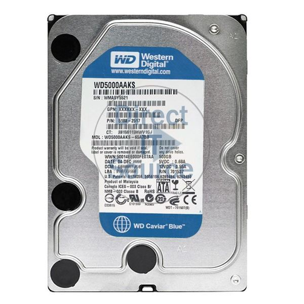 "HP 5188-2517 - 500GB 7.2K SATA 3.5"" Hard Drive"
