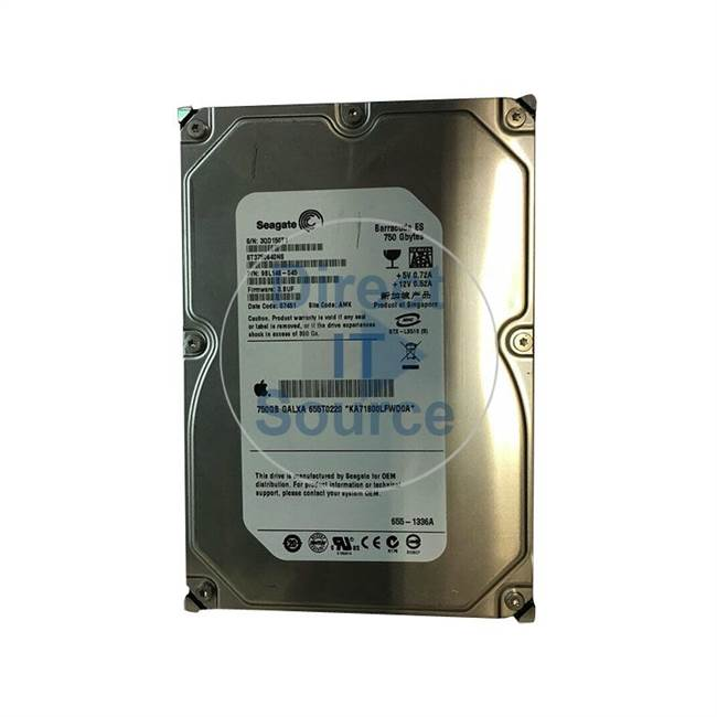 "Apple 655-1336A - 750GB 7.2K SATA 3.5"" Hard Drive"