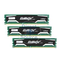 Crucial BL3KIT51264BA160A - 12GB 3x4GB DDR3 PC3-12800 240-Pins Memory