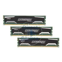 Crucial BLS3KIT4G3D1339DS1S00 - 12GB 3x4GB DDR3 PC3-10600 240-Pins Memory