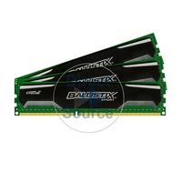Crucial BLS3KIT4G3D1609DS1S00 - 12GB 3x4GB DDR3 PC3-12800 240-Pins Memory