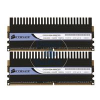 Corsair CM2X1024-8500C5D - 2GB 2x1GB DDR2 PC2-8500 240-Pins Memory