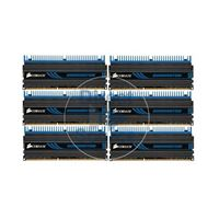 Corsair CMP24GX3M6A1600C9 - 24GB 6x4GB DDR3 PC3-12800 240-Pins Memory