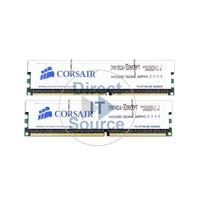 Corsair CMX1024-3200C2PT - 2GB 2x1GB DDR PC-3200 Non-ECC Unbuffered 184-Pins Memory