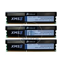 Corsair CMX12GX3M3B1600C9 - 12GB 3x4GB DDR3 PC3-12800 Non-ECC Unbuffered 240-Pins Memory