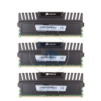 Corsair CMZ12GX3M3A1600C9 - 12GB 3x4GB DDR3 PC3-12800 Non-ECC Unbuffered 240-Pins Memory
