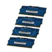 Corsair CMZ16GX3M4A1600C9B - 16GB 4x4GB DDR3 PC3-12800 240-Pins Memory